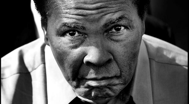 Muhammad Ali: 'I am the greatest, I said that even before I knew I was. I figured that if I said it enough, I would convince the world that I really was the greatest' Photo: Steve Humphreys
