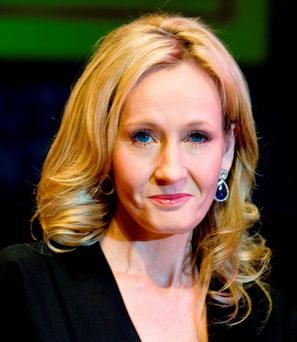 Harry Potter author JK Rowling. Photo: Ian West/PA Wire
