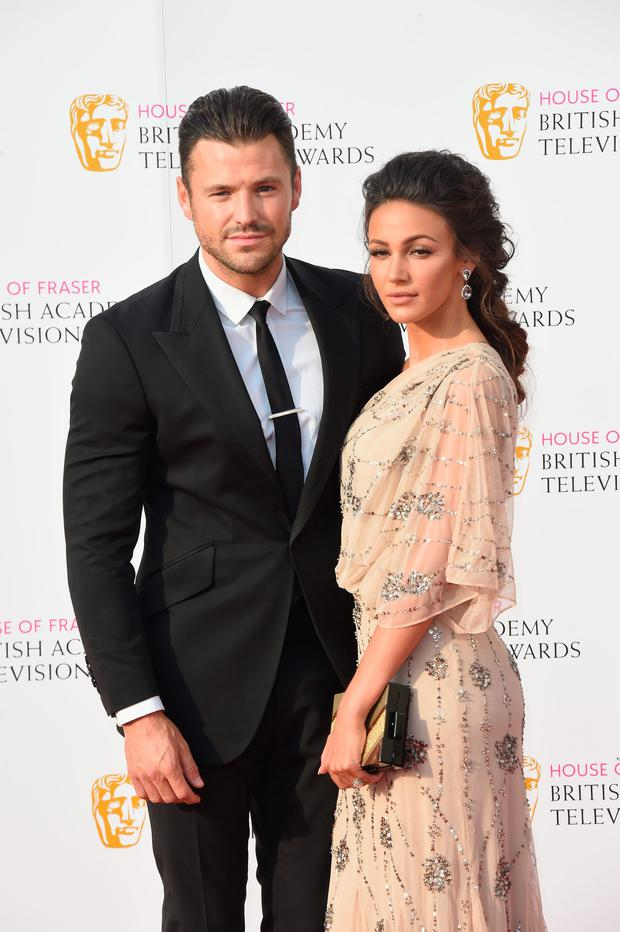 Mark Wright and Michelle Keegan attends the House Of Fraser British Academy Television Awards 2016 at the Royal Festival Hall on May 8, 2016 in London, England. (Photo by Stuart C. Wilson/Getty Images)