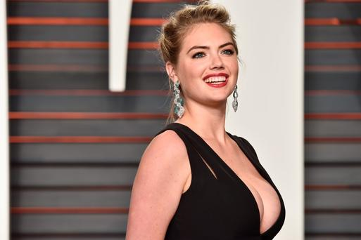Model Kate Upton attends the 2016 Vanity Fair Oscar Party Hosted By Graydon Carter at the Wallis Annenberg Center for the Performing Arts on February 28, 2016 in Beverly Hills, California. (Photo by Pascal Le Segretain/Getty Images)