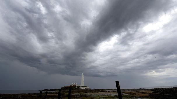 Thunderstorms have hit parts of the country
