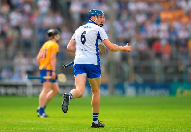 Austin Gleeson's successful sideline cut helped to stem the Clare tide. Photo: Sportsfile