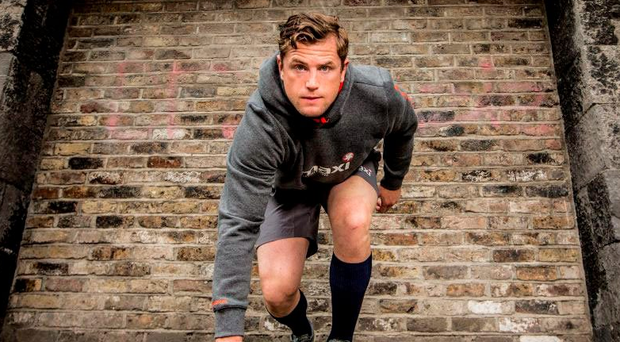 Maxi-Nutrition ambassador Jamie Heaslip is on his marks for South Africa Photo: INPHO/James Crombie