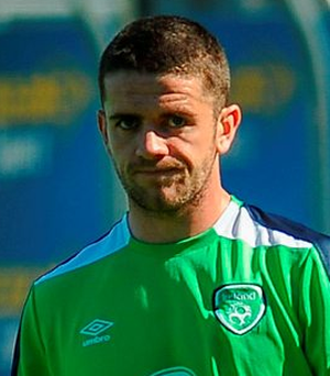 Robbie Brady suffered a back spasm over the weekend Photo: Eóin Noonan / Sportsfile