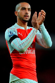 Theo Walcott has received assurance that he has a future at Arsenal Photo: AFP/Getty Images