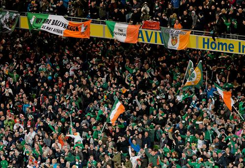 By boat, train and plane, as many as 50,000 Irish soccer fans are making final preparations for the trip to France.