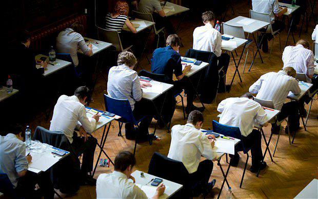 Some 120,000 students will start exams tomorrow