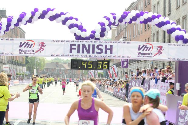 VHI Womens Mini Marathon in Dublin this afternoon.. Pic Stephen Collins/Collins Photos