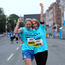 6 June 2016: Sinead Kealy, left, and Elaine Murphy, from Donabate, taking part in the VHI Women's Mini Marathon 2016. Fitzwilliam Street Lower, Dublin. Picture; Caroline Quinn
