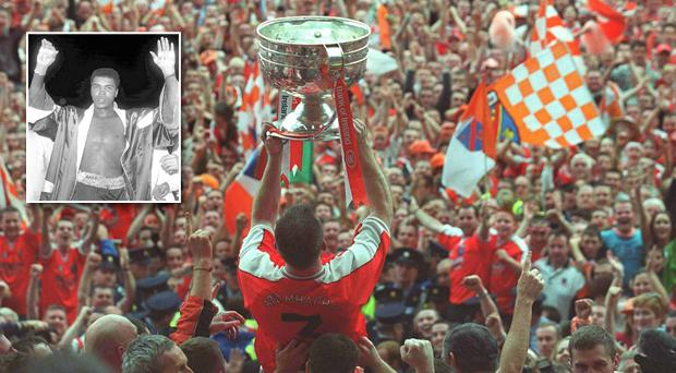 Muhammad Ali played a part in Armagh's only All-Ireland triumph