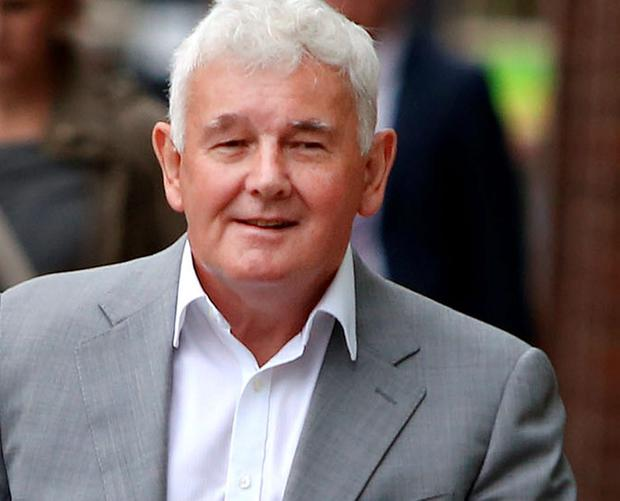 John Gilligan arrives at The Four Courts for a Supreme court hearing