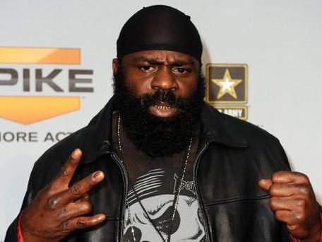 Former UFC and Bellator MMA fighter Kimbo Slice has died, aged 42 (Getty)