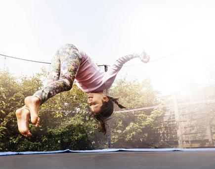 Injuries are entirely preventable and in 35pc of cases, the injury was related to the presence of others on the trampoline.