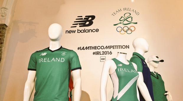 99d837f5156 Revealed! Ireland's official Olympic team kit is launched ...