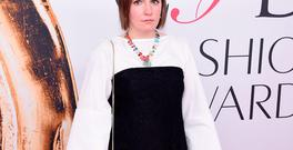 Lena Dunham attends the 2016 CFDA Fashion Awards at the Hammerstein Ballroom on June 6, 2016 in New York City. (Photo by Jamie McCarthy/Getty Images)