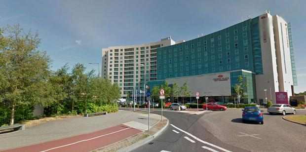 Crowne Plaza Blanchardstown. Picture: Google Maps