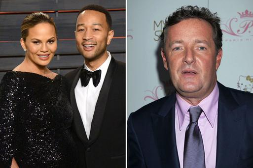 Chrissy Teigen and John Legend got into a heated debate with Piers Morgan over Muhammad Ali.