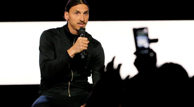 Zlatan Ibrahimovic launches his A-Z brand of sportswear in Paris