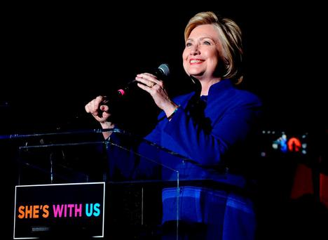 Eight years ago in an emotional concession speech to Barack Obama, Hillary noted she was unable to 'shatter that highest, hardest glass ceiling'. Only time will tell whether she takes the next step. (Photo by Kevin Winter/Getty Images)