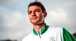 400m hurdler Thomas Barr. Photo: Ramsey Cardy/Sportsfile
