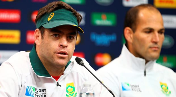 South Africa's assistant coach Johan van Graan says his side are ready for the Test series. (Photo by Steve Haag/Gallo Images/Getty Images)