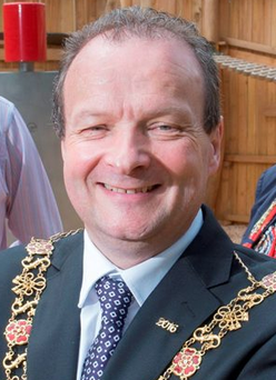 Lord Mayor of Cork Chris O'Leary said the Cork scheme was an important first step in tackling Ireland's housing crisis Photo: Gerard McCarthy