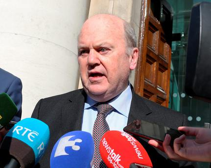Leeway: Finance Minister Michael Noonan Picture: Tom Burke