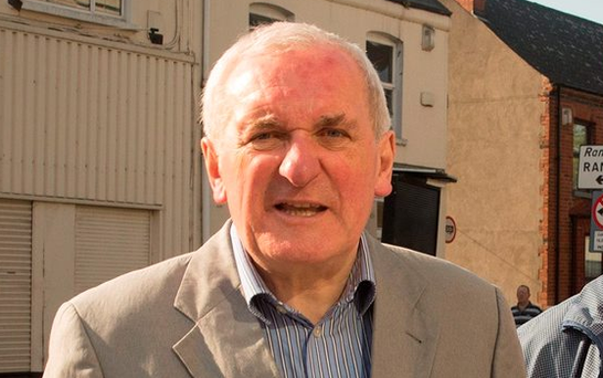 Dispute resolution: Former Taoiseach Bertie Ahern Picture: Arthur Carron