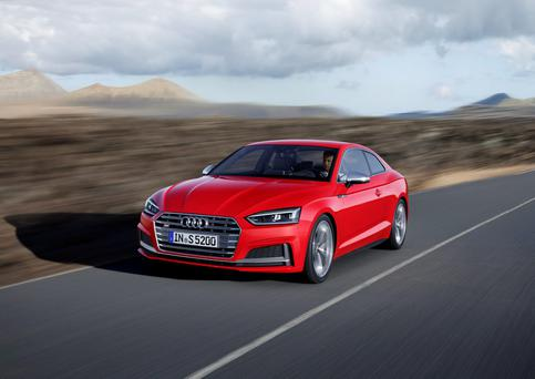 The Audi S5 Coupe.