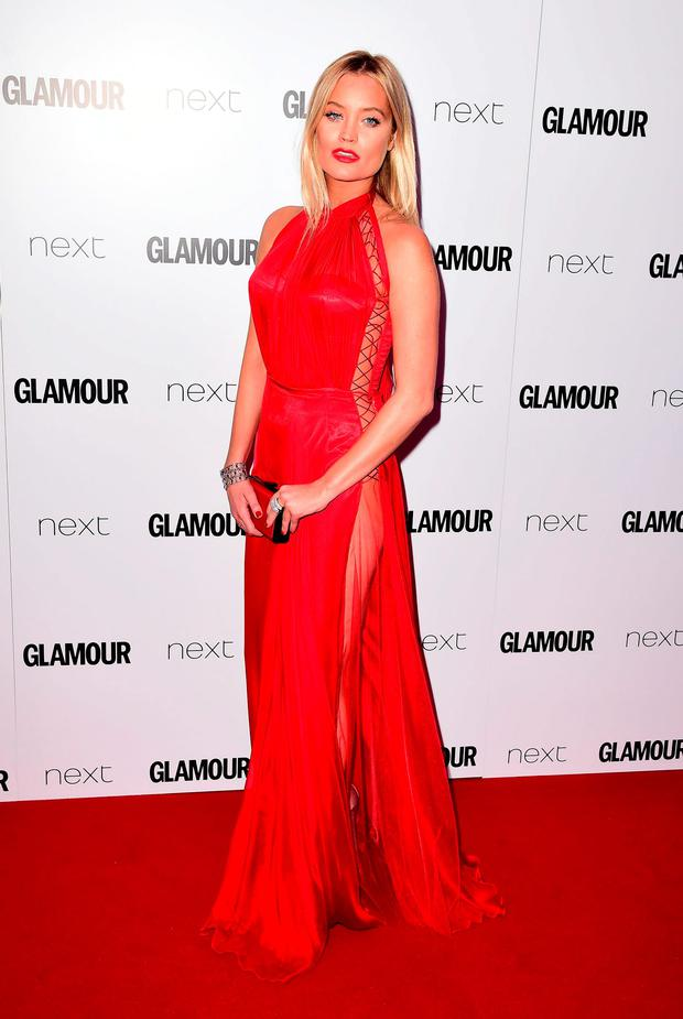 Laura Whitmore at the Glamour Women of the Year Awards 2016, Berkeley Square Gardens, London