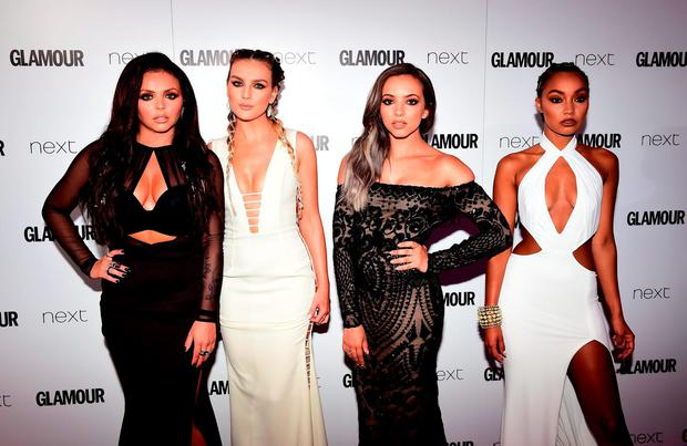 Little Mix's (L-R) Jesy Nelson, Perrie Edwards, Jade Thirlwall and Leigh-Anne Pinnock have announced a 2017 Irish tour