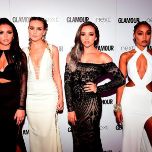 Little Mix's (L-R) Jesy Nelson, Perrie Edwards, Jade Thirlwall and Leigh-Anne Pinnock at the Glamour Women of the Year Awards 2016
