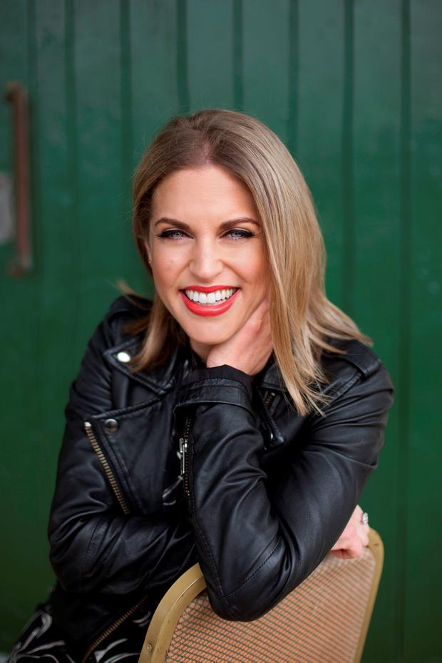 Amy Huberman: 'these days I just love being in lounge wear'. Photo: Naomi Gaffey.