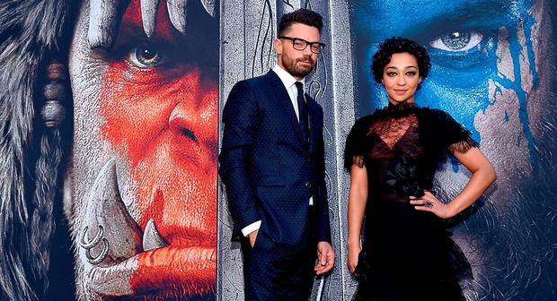 Actors Dominic Cooper and Ruth Negga attend the premiere of Universal Pictures'