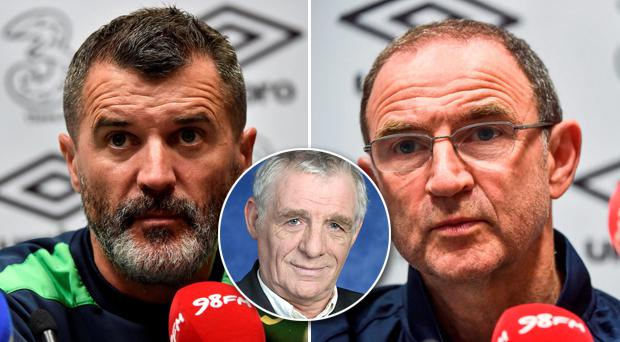 Eamon Dunphy has questioned several aspects of the Ireland management set-up overseen by manager Martin O'Neill and his assistant Roy Keane