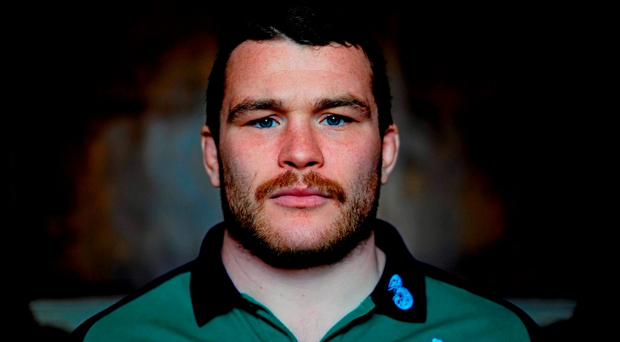Jack McGrath is ready to face the Springbok front-row. Photo: David Maher/Sportsfile