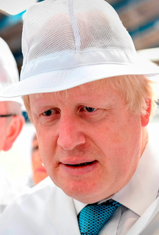 Brexit, spearheaded by Boris Johnston, has made the outlook for growth 'uncertain' Photo: Andrew Parsons / i-Images / Pool