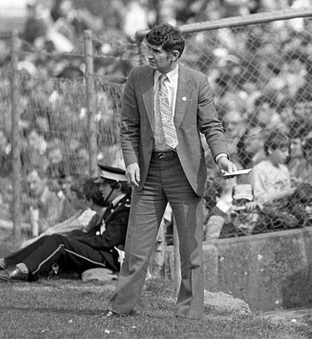 The 'snappy dresser' Mick O'Dwyer on the sideline during the 1984 final Picture: Ray McManus/SPORTSFILE