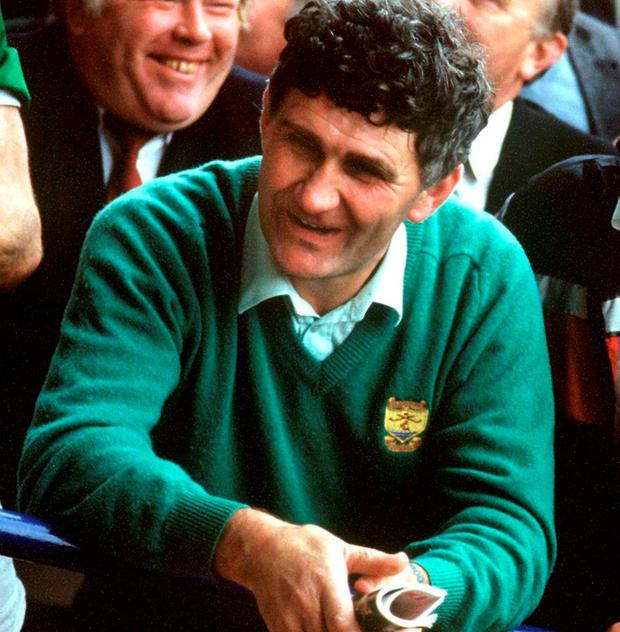 After Kerry's All-Ireland final win over Tyrone in 1986 Picture: Ray McManus/Sportsfile
