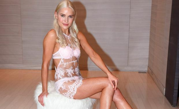 Teodora Sutra showcases selections of lingerie looks from The Lingerie Rooms at Brown Thomas