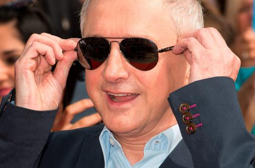 Louis Walsh attends the X Factor Wembley Arena auditions at Wembley on August 1, 2014 in London, England. (Photo by Ian Gavan/Getty Images)