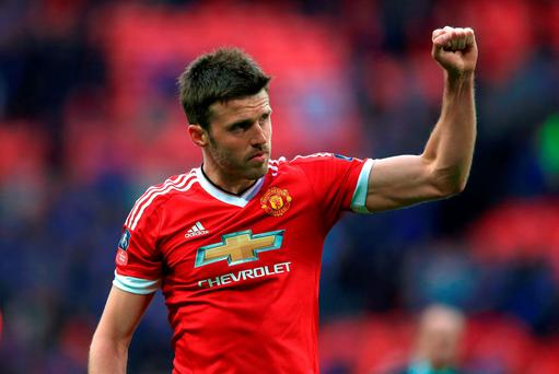 File photo dated 23-04-2016 of Manchester United's Michael Carrick PRESS ASSOCIATION Photo. Issue date: Thursday June 9, 2016. Manchester United have announced midfielder Michael Carrick has agreed terms to extend his contract to June 2017. See PA story SOCCER Man Utd. Photo credit should read John Walton/PA Wire.