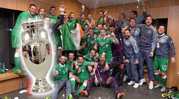 This could be how Ireland lift the Henri Delaunay Trophy