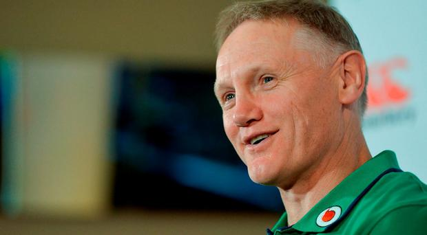 Ireland head coach Joe Schmidt during a press conference in Southern Sun Waterfront Hotel, Cape Town, South Africa. Photo by Brendan Moran/Sportsfile