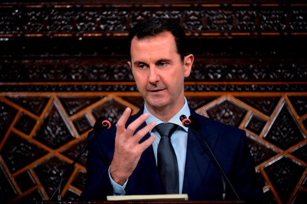 Attack: Bashar al-Assad. Photo: AP