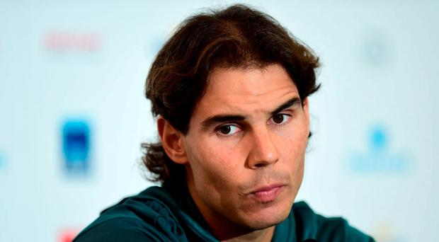 Rafael Nadal is still hoping that rest and rehabilitation will cure his wrist injury without the need for surgery. Picture Credit: Adam Davy/PA Wire.