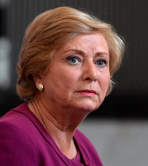 Justice Minister Frances Fitzgerald Photo: AFP/Getty Images