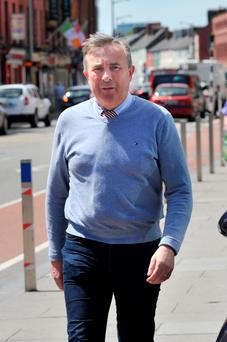 Pat O'Dwyer outside court. Photo: Cork Courts Limited