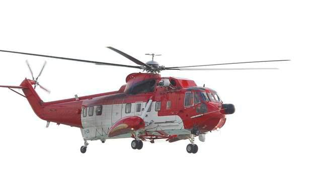 Six coastguard rescue teams and two rescue helicopters were involved in the search.