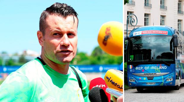 Shay Given has admitted to being surprised by the level of security